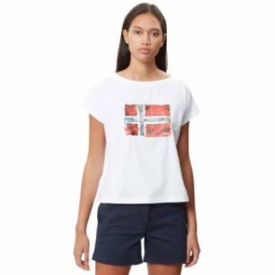 napapijri ナパピリ ファッション 女性用ウェア Tシャツ napapijri seithem