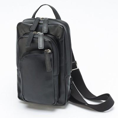平野鞄 ブレザークラブ 牛革3WAYボディーバッグ 16446 1個