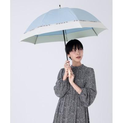 Wpc./KiU / 遮光バードケージバイカラーパイソンアクセント WOMEN ファッション雑貨 > 長傘