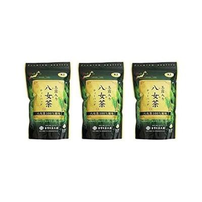 古賀製茶本舗 玉露入り八女茶 八女茶100%使用 ティーバッグ 250g(5g×50袋)× 3個セット