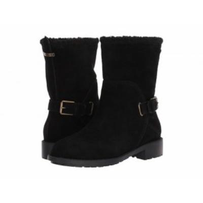 Cole Haan コールハーン レディース 女性用 シューズ 靴 ブーツ スノーブーツ Quiana Bootie Waterproof Black Suede/Black【送料無料】