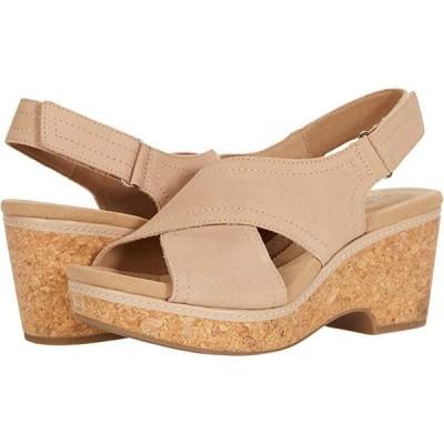 クラークス Giselle Cove レディース ヒール パンプス Sand Leather