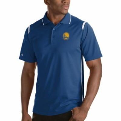Antigua アンティグア スポーツ用品  Antigua Golden State Warriors Royal Merit Polo