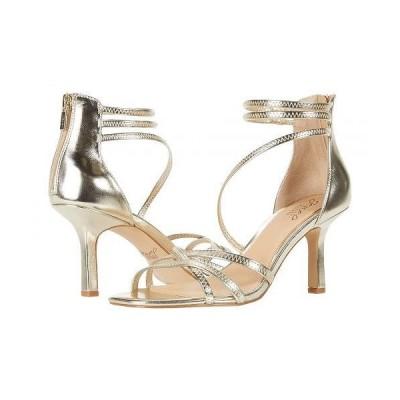 Jewel Badgley Mischka レディース 女性用 シューズ 靴 ヒール Flor - Light Gold