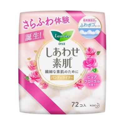 ロリエ しあわせ素肌ライナー ピュアフローラルの香り 72個