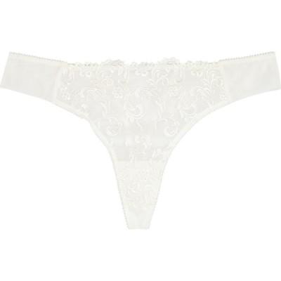 ワコール Wacoal レディース ショーツのみ インナー・下着 Decadence Embroidered Tulle Thong White