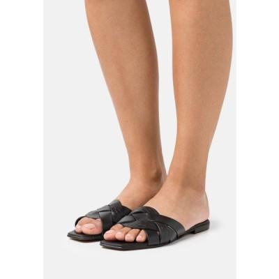 デューンロンドン レディース 靴 シューズ LEXI - Mules - black