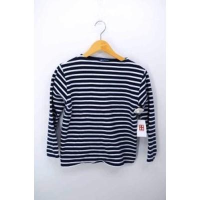 セントジェームス SAINT JAMES ボートネックTシャツ サイズUS:32 レディース 【中古】【ブランド古着バズストア】