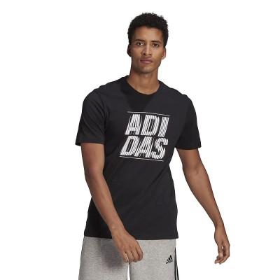 adidas (アディダス) エクストルージョン モーション  グラフィック 半袖Tシャツ / Extrusion Motion Graphic Tee S . メンズ 31440 GL3031