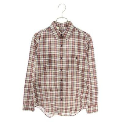 エヌハリウッド N.HOOLYWOOD 1140pieces サイズ:36 チェック柄胸ポケット長袖シャツ 中古 BS99