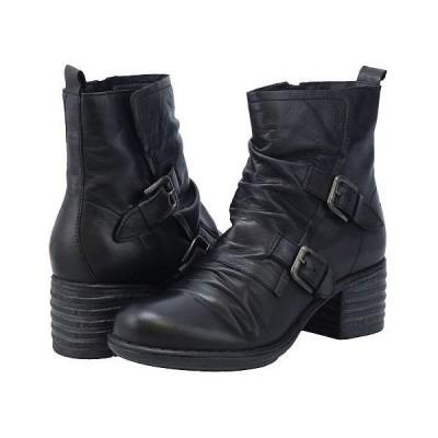 Miz Mooz ミズムーズ レディース 女性用 シューズ 靴 ブーツ アンクル ショートブーツ Gordon - Black