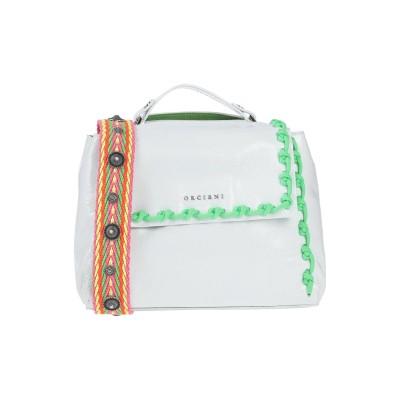 オルチアーニ ORCIANI ハンドバッグ ホワイト 革 ハンドバッグ
