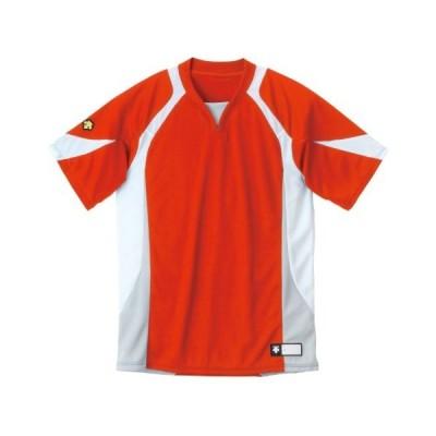 DESCENTE(デサント) DB-113 カラー:RDWH サイズ:O セカンダリーシャツ