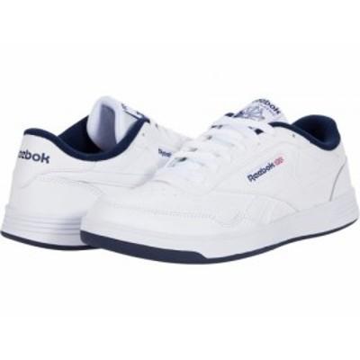 Reebok リーボック メンズ 男性用 シューズ 靴 スニーカー 運動靴 Club Memt White/Collegiate Navy/White 1【送料無料】