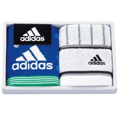adidas アストラル タオルチーフ ギフトセット Bブルー アディダス ハンカチタオル タオル スポーツ ジム 携帯 抗菌防臭加工 adidas AD-1071B