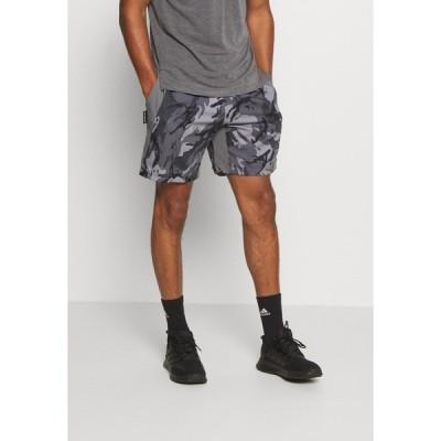 アディダス カジュアルパンツ メンズ ボトムス AEROREADY PRIMEBLUE TRAINING SHORTS - Sports shorts - dovgry/grefou/black