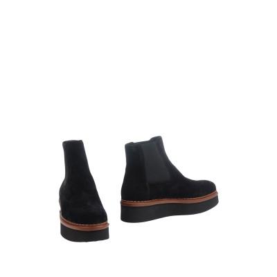 トッズ TOD'S ショートブーツ ブラック 35 牛革(カーフ) ショートブーツ