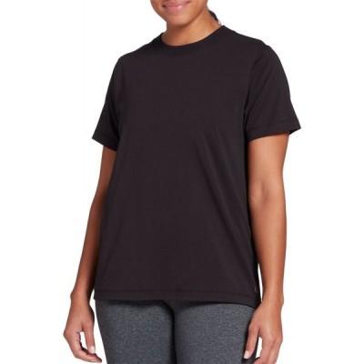キャリー アンダーウッド CALIA by Carrie Underwood レディース Tシャツ トップス Everyday Boyfriend T-Shirt Pure Black