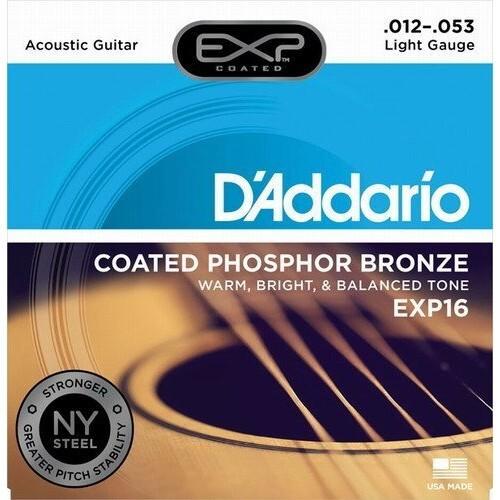 daddario exp16 (012-053) 磷青銅演奏/錄音級民謠吉他弦[唐尼樂器] - 標準