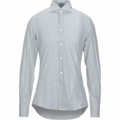 ロダ RODA メンズ シャツ トップス patterned shirt White