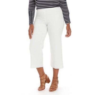 カスパール レディース カジュアルパンツ ボトムス Women's Crepe Culotte Pants