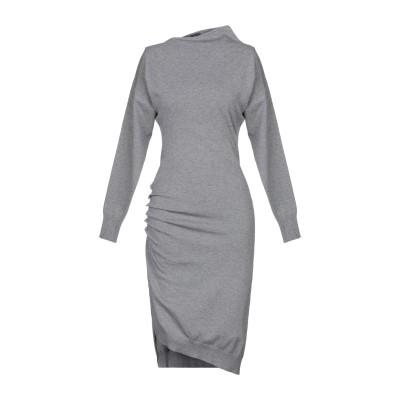 ピンコ PINKO ミニワンピース&ドレス グレー S レーヨン 50% / ナイロン 30% / ウール 20% ミニワンピース&ドレス