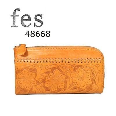 【 fes フェス 】[正規品] 48668 カービング カウレザー 長財布