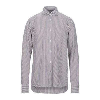 SEVENTY SERGIO TEGON シャツ ブラウン 42 コットン 100% シャツ