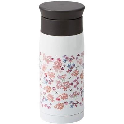竹中(Takenaka) マグボトル ホワイト 350ml 水筒 フェリー ステンレスボトル シャクナゲ 350ml T-86268