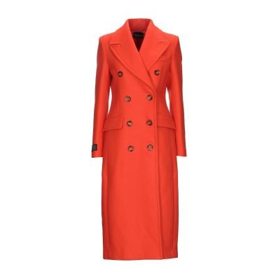 アトス ロンバルディーニ ATOS LOMBARDINI コート オレンジ 40 バージンウール 75% / ナイロン 25% コート