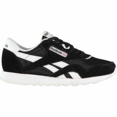 リーボック Reebok レディース スニーカー シューズ・靴 classic nylon trainers Black/White