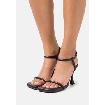 プロエンザショラー サンダル レディース シューズ CECIL PADDED ANKLE STRAP - High heeled sandals - black