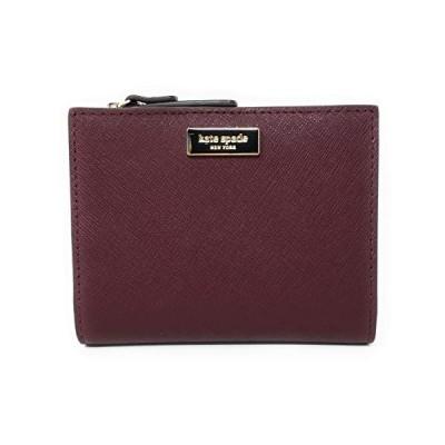 Kate Spade New York Laurel Way Small Shawn Leather Bifold Wallet (Cherrywood)【並行輸入品】