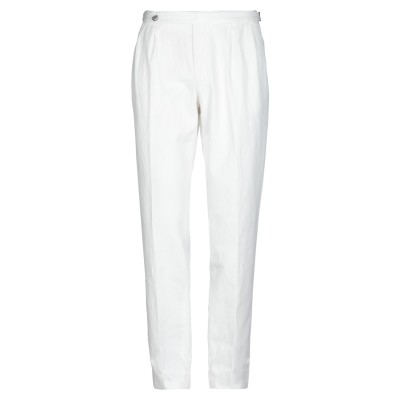GTA IL PANTALONE パンツ ホワイト 46 コットン 61% / リネン 39% パンツ