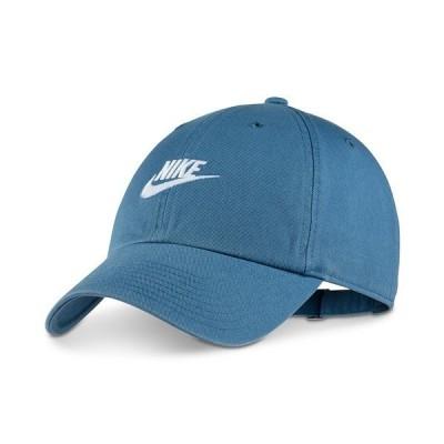 ナイキ 帽子 アクセサリー メンズ Sportswear Futura Twill Hat Cerulean