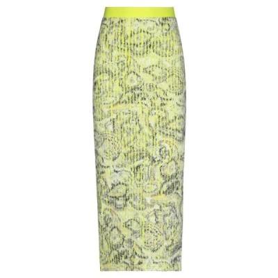 Y PROJECT 七分丈スカート  レディースファッション  ボトムス  スカート  ロング、マキシ丈スカート ビタミングリーン