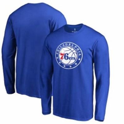 Fanatics Branded ファナティクス ブランド スポーツ用品  Philadelphia 76ers Royal Primary Logo Long Sleeve T-Shir