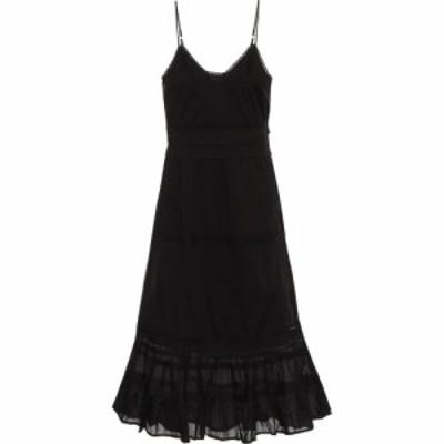 ベルベット グラハムandスペンサー Velvet レディース ワンピース ミドル丈 ワンピース・ドレス zuly cotton midi dress Black