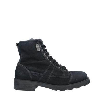 O.X.S. ショートブーツ  レディースファッション  レディースシューズ  ブーツ  その他ブーツ ブラック