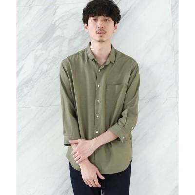 TAKEO KIKUCHI / タケオキクチ ミニウイングカラー 七分袖 シャツ