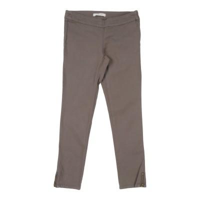 リュー ジョー LIU •JO パンツ カーキ 8 コットン 98% / ポリウレタン 2% パンツ