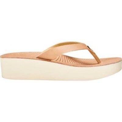 オルカイ OluKai レディース ビーチサンダル シューズ・靴 Ao Loa Flip Flop Golden Sand/Golden Sand