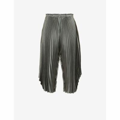 イッセイ ミヤケ ISSEY MIYAKE レディース ボトムス・パンツ ハイライズ ワイド トラウザー Pleated Wide-Leg High-Rise Woven Trousers