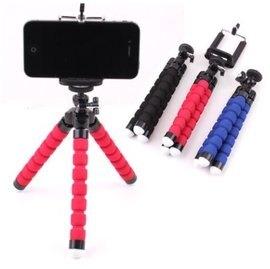迷你海綿章魚三腳架 八爪手機支架 手機 數位相機通用支架