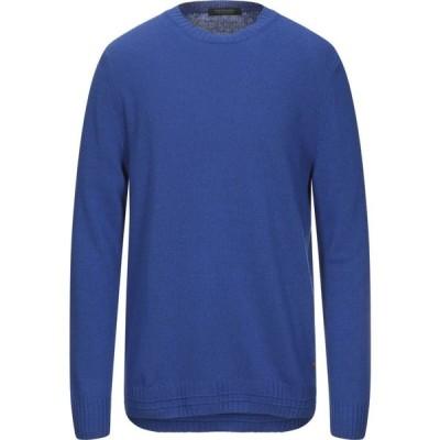 スコッチ&ソーダ SCOTCH & SODA メンズ ニット・セーター トップス sweater Bright blue