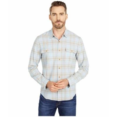 ラッキーブランド シャツ トップス メンズ Long Sleeve Humboldt Workwear Shirt Blue Plaid