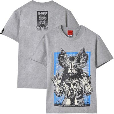 ULTRAMAN ウルトラマン (55周年記念 ) - イカルス星人 / バックプリントあり / Tシャツ / メンズ 【公式 / オフィシャル】(L)