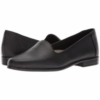 トロッターズ Trotters レディース シューズ・靴 Liz Tumbled Black Very Soft Leather