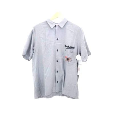 ウィルソン wilson チェーン ステッチ ボーリングシャツ メンズ 38 中古 210226
