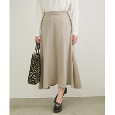 ROPE' PICNIC / アシンメトリー切替フレアスカート WOMEN スカート > スカート